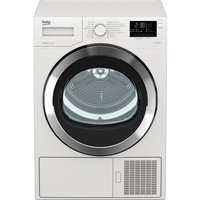 BEKO Select DSX93460W Heat Pump Tumble Dryer - White, White