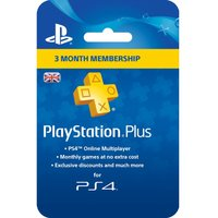 SONY PlayStation 4 Plus 3 Month Subscription