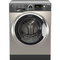 HOTPOINT Smart RSG964JGX Washing Machine - Graphite, Graphite