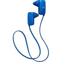 JVC HA-F250BT-AE Wireless Bluetooth Headphones - Blue, Blue