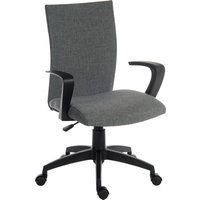 TEKNIK Work 6931GRY Nylon Operator Chair - Grey, Grey