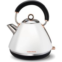 MORPHY RICHARDS Accents 102106 Traditional Kettle - White & Rose Gold, White