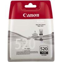 CANON PGI-520 Black Ink Cartridge, Black