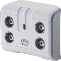 ONE FOR ALL  SV9604 4-Way TV Signal Booster