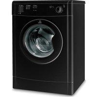INDESIT IDV75BK Vented Tumble Dryer - Black, Black