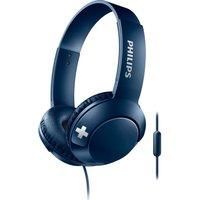 PHILIPS Bass SHL3075BL Headphones - Blue, Blue