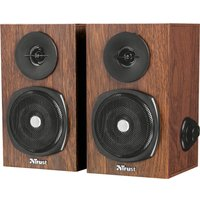 TRUST Vigor 2.0 PC Speakers - Brown, Brown