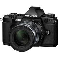 OLYMPUS OM-D E-M5 Mark II Compact System Camera with M.ZUIKO 12-50 mm f/3.5-6.3 Zoom Lens, Black