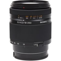 SONY SAL18250 18250 mm f/3.56.3 Telephoto Zoom Lens