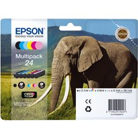 EPSON T2428 6-colour Ink Cartridges - Multipack