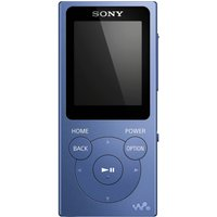 SONY  Walkman NW-E394R 8 GB MP3 Player with FM Radio - Blue, Blue
