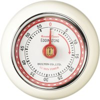 EDDINGTONS Retro Magnetic Kitchen Timer - Ivory, Ivory