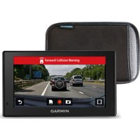 GARMIN DriveAssist 51LMT-S EU 5 Sat Nav - Full Europe Map, Dash Cam & Case