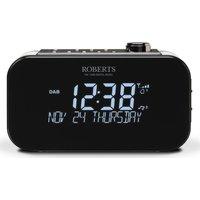 ROBERTS Ortus 3 DAB/FM Clock Radio - Black, Black