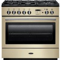 RANGEMASTER  Professional FX 90 Dual Fuel Range Cooker - Cream & Chrome, Cream