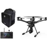 YUNEEC Typhoon H Drone with ST-16 Controller, RealSense Module & Backpack - Black, Black