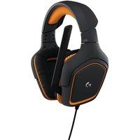 LOGITECH G231 Prodigy 2.1 Gaming Headset - Black & Orange, Black