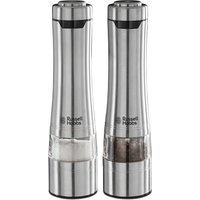 RUSSELL HOBBS Electric Illuminating Salt & Pepper Grinder - Stainless Steel, Stainless Steel