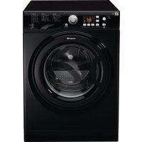 HOTPOINT Aquarius FDF 9640 K 9 kg Washer Dryer - Black, Black