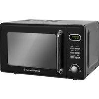 RUSSELL HOBBS  RHRETMD706B Solo Microwave - Black, Black
