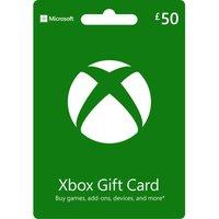 MICROSOFT  Xbox Live Gift Card - £50