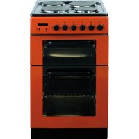 BAUMATIC BCE520R Electric Solid Plate Cooker - Red, Red