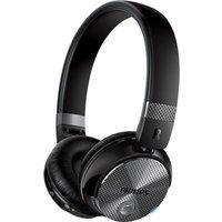 PHILIPS SHB8850NC Wireless Bluetooth Noise-Cancelling Headphones - Black, Black
