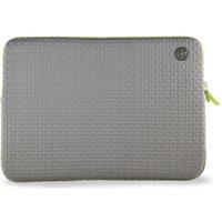 "GOJI  GSMGY1316 13"" MacBook Pro Sleeve - Grey & Green, Grey"