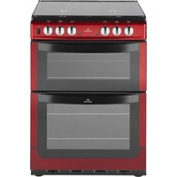 NEW WORLD  601DFDOL Dual Fuel Cooker - Red, Red