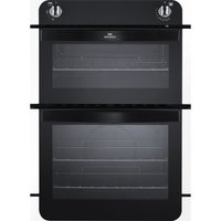 NEW WORLD NW901G Gas Oven - White & Black, White