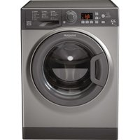 HOTPOINT Aquarius FDF 9640 G 9 kg Washer Dryer - Graphite, Graphite