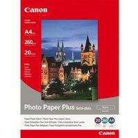 CANON A4 Semi-Gloss Photo Paper Plus - 20 Sheets