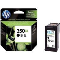 HP 350XL Black Ink Cartridge, Black