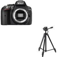 NIKON D5300 DSLR Camera & EF-61 Tripod Bundle