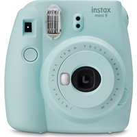 INSTAX mini 9 Instant Camera - Ice Blue, Blue
