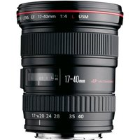 CANON EF 17-40mm f/4L USM Ultra Wide-Angle Zoom Lens