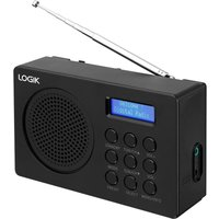 LOGIK  L2DAB16 Portable DAB/FM Radio - Black, Black