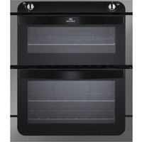 NEW WLD NW701G Gas Built-under Oven - Black & Stainless Steel, Stainless Steel