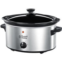 RUSSELL HOBBS 23200 Slow Cooker - Stainless Steel, Stainless Steel
