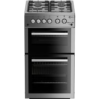 FLAVEL  MLB51NDS Gas Cooker - Silver, Silver