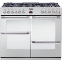 STOVES Sterling R1000DFT Dual Fuel Range Cooker - Stainless Steel, Stainless Steel