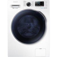 SAMSUNG ecobubble WD80J6410AW/EU Washer Dryer - White, White