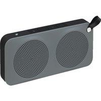 JVC SP-AD60-H Portable Wireless Speaker - Black & Grey, Black
