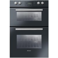 CANDY FDP6109NX Electric Double Oven - Black, Black