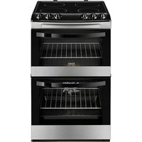 ZANUSSI ZCV46000XA 55 cm Electric Cooker - Black, Black