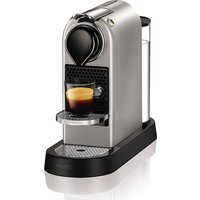 NESPRESSO by Krups CitiZ XN740B40 Coffee Machine - Silver, Silver