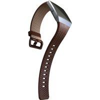 FITBIT Ionic Leather Band - Cognac, Large, Cognac