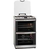 AEG 47132MM-MN Dual Fuel Cooker - Stainless Steel, Stainless Steel