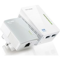 Tp-Link  AV600 Wireless Powerline Adapter Kit - Twin Pack