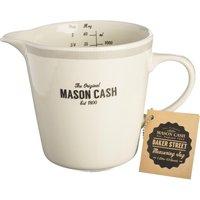 MASON CASH Baker Lane 1-Litre Measuring Jug - Cream & Grey, Cream
